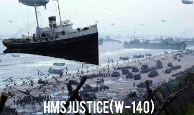 Tierra del Fuego: Barco emblemático que participó en el desembarco de Normandía