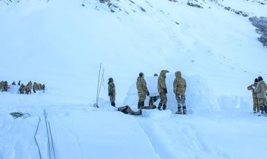 Tierra del Fuego: El BIM N°4 realizó adiestramiento en la montaña