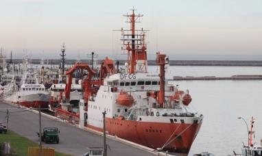 Tierra del Fuego: El buque ara austral inició su participación en una nueva campaña oceanográfica