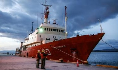 Tierra del Fuego: Buque oceanográfico partió de Ushuaia hacia una misión de investigación en el mar