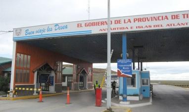"""Tierra del Fuego: Cerca de 12 mil personas menos salieron por el paso fronterizo """"San Sebastián"""""""