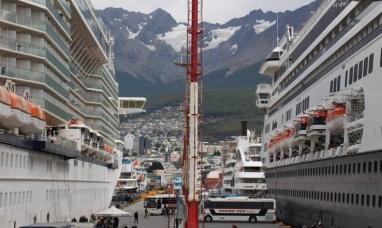 Tierra del Fuego: Con más de 400 recaladas hoy se realizará el cierre de la temporada de cruceros