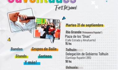 Tierra del Fuego: Con el inicio de la primavera, desde el gobierno proponen festejar el día de  los estudiantes