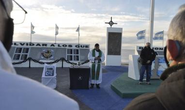 Tierra del Fuego: Con una misa de campaña se homenajeó a los veteranos de Malvinas