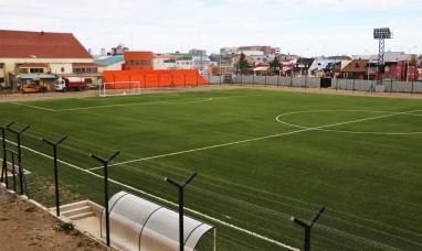 Tierra del Fuego: Confirman la inauguración de la cancha de césped sintético del centro deportivo de Río Grande