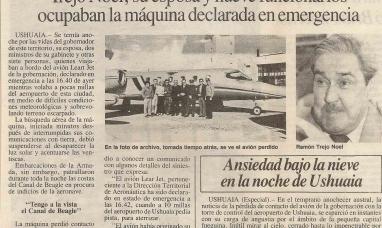 Tierra del Fuego: Se conmemoró un nuevo aniversario de la tragedia del Lear jet de la gobernación