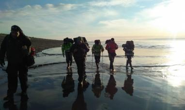 """Tierra del Fuego: Continúa la búsqueda del joven jinete arrastrado por las aguas del río """"Bueno"""""""