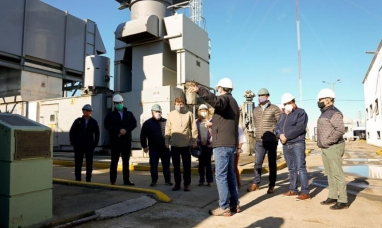 Tierra del Fuego: La cooperativa eléctrica de Río Grande recibió el nuevo motor para la turbina principal
