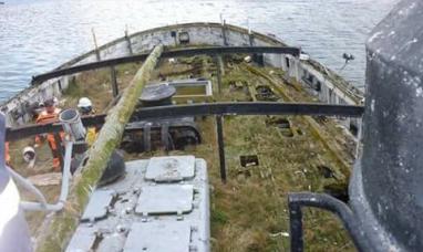 Tierra del Fuego: Cruzada para logar la recuperación de la embarcación Saint Christopher