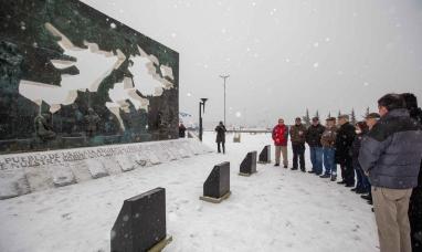 """Tierra del Fuego: """"Cuando uno viene a ésta provincia encuentra un sentimiento firme"""" dijo ex canciller"""