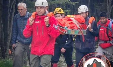 """Tierra del Fuego: Cuarto rescate de """"senderistas"""" en lo que va de enero"""