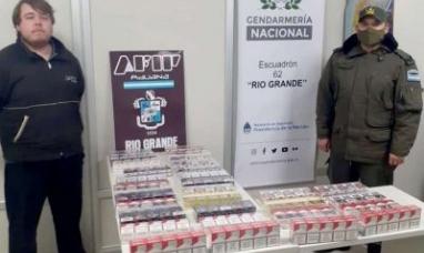Tierra del Fuego: Desbaratan contrabando de cigarrillos en paso fronterizo
