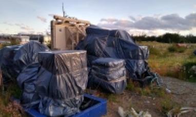 Tierra del Fuego: Desde gobierno informaron que encontraron abandonados dos generadores eléctricos en Tolhuin
