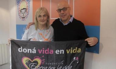 """Tierra del Fuego: Desde el gobierno refuerzan el compromiso de trabajo con la fundación """"Espera por la vida"""""""