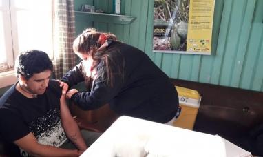 Tierra del Fuego: Desde el ministerio de salud realizaron un revelamiento sanitario en una estancia