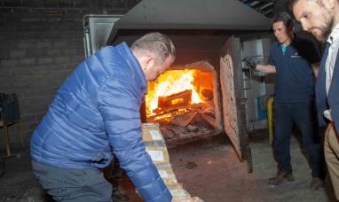 Tierra del Fuego: Desde la secretaría de seguridad incineraron 100 kilogramos de droga