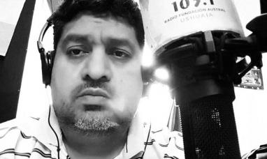 """Tierra del Fuego: Dolor y tristeza por la muerte del periodista ushuaiense """"Charly"""" Molina"""