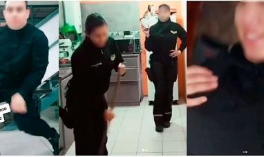 Tierra del Fuego: Efectivos policiales difundían vídeo en redes sociales estando uniformados y de servicio