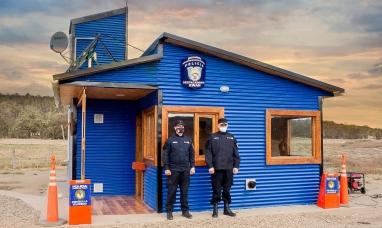 """Tierra del Fuego: Se encuentra oficialmente en servicio el nuevo puesto policial """"Ewan"""""""