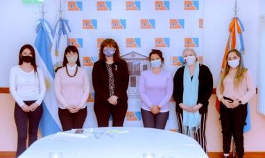 Tierra del Fuego: Especialistas en lactancia materna se reunieron con la presidenta de la legislatura