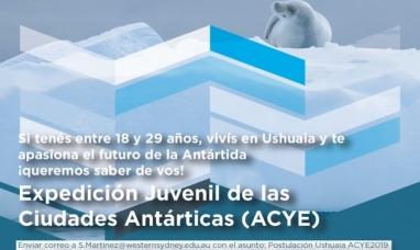"""Tierra del Fuego: Está abierto el concurso """"Expedición juvenil de ciudades antárticas"""""""