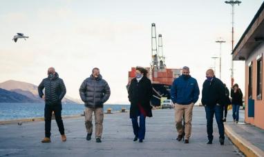 Tierra del Fuego: Se está haciendo un gran trabajo para garantizar las operaciones portuarias dijo la presidenta del parlamento