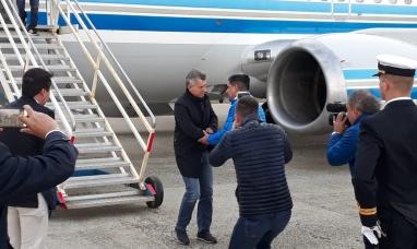 Tierra del Fuego: Mauricio Macri está de visita por primera vez desde que es presidente