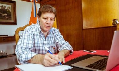 """Tierra del Fuego: """"Estamos trabajando en la ampliación del ejido urbano de Ushuaia"""" dijo el gobernador"""