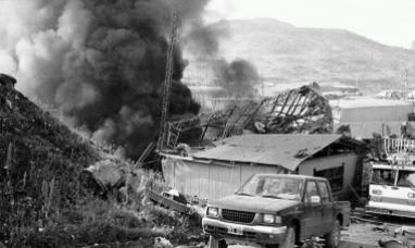 Tierra del Fuego: A 19 años de la explosión del galpón en  ingeniería Guerra