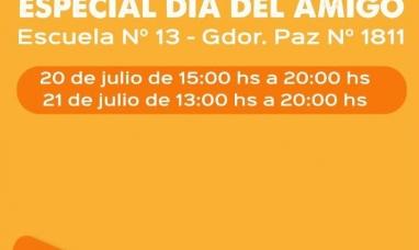 """Tierra del Fuego: Expo feria de la economía popular """"Especial día del amigo"""""""