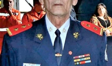 Tierra del Fuego: Falleció en Río Grande el comandante Juan Carlos De León