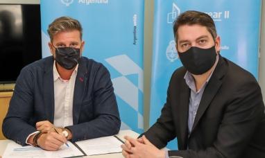 Tierra del Fuego: Se firmaron convenios con el intendente de Río Grande
