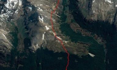 Tierra del Fuego: Fue hallada sin vida la mujer atrapada en la grieta del cerro Alvear