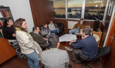 Tierra del Fuego: Funcionarios se reunieron con representantes de la estancia Moat relacionada al corredor del Beagle