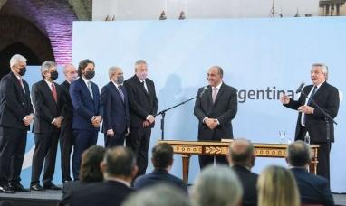 Tierra del Fuego: El gobernador deseó éxitos a los nuevos ministros del gabinete nacional