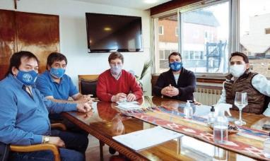 Tierra del Fuego: El gobernador recibió a la conducción de gremio estatal