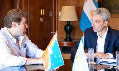 Tierra del Fuego: El gobernador se reunió con el ministro de transporte de la nación
