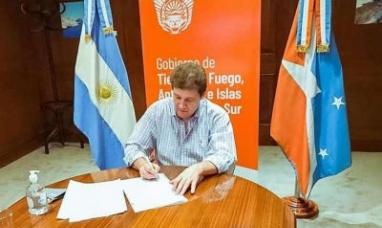 """Tierra del Fuego: El gobernador rubricó el acuerdo para el lanzamiento de la marca """"Patagonia Argentina"""""""