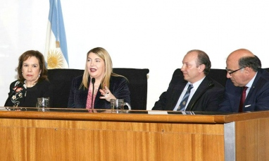 Tierra del Fuego: La gobernadora abogó por una reforma integral del código penal en el congreso de la nación