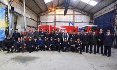 Tierra del Fuego: La gobernadora anunció que los bomberos voluntarios accederán a la obra social y jubilación