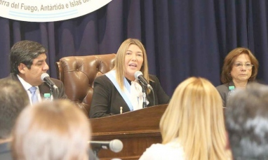 Tierra del Fuego: La gobernadora inicia el período legislativo