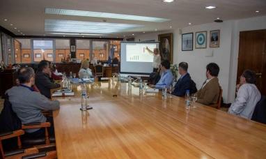 Tierra del Fuego: La gobernadora recibió a la empresa finlandesa Wartsila