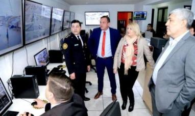 Tierra del Fuego: La gobernadora recorrió la central de vigilancia y monitoreo