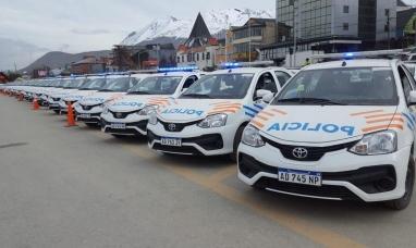 Tierra del Fuego: Gobierno adquirió 80 nuevos móviles para la policía