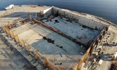 """Tierra del Fuego: El gobierno comienza construcción de la """"cuestionada"""" planta de líquidos cloacales de Río Grande"""