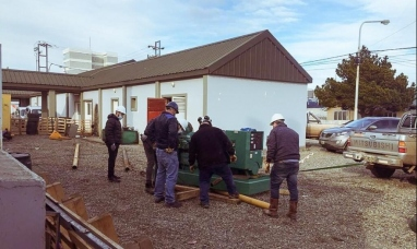 Tierra del Fuego: Gobierno compró un grupo electrógeno que será instalado en el hospital Río Grande
