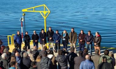 Tierra del Fuego: Gobierno inauguró dos muelles para pescadores artesanales