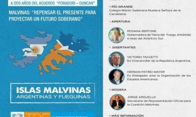 """Tierra del Fuego: Gobierno organiza la jornada """"Malvinas repensar el presente para proyectar un futuro soberano"""""""
