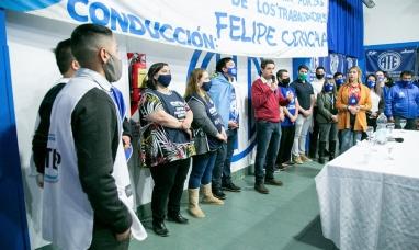 """Tierra del Fuego: Gremio estatal expresó su respaldo al """"Frente de todos"""""""
