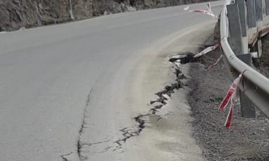Tierra del Fuego: No hay ningún tipo de peligro de derrumbe señalaron desde vialidad nacional
